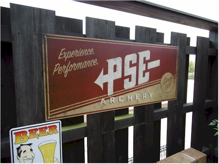 PSE Antique Aluminum Sign [psealumsign]
