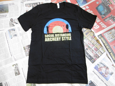 LAS Social Distance Archers T-Shirt